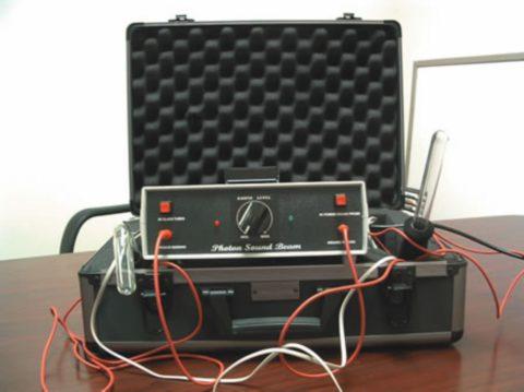 Tesla Violet Ray Photon Sound Beam Ozone Tissue Organ